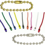 Sleutelketting halsketting kogelketting met slotje
